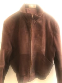 Vintage 1980's size 42 (medium) Men's Leather Jacket New Hope, 55428