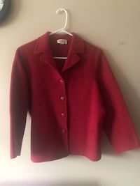 Talbot Petites Wool Jacket / Pink,Buttoned front Size 16 Calgary, T2A 0L5