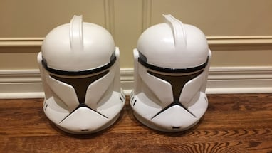 Clone Trooper Masks (Year 2002)