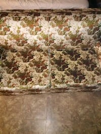 white and brown floral fabric sofa Topeka
