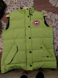Lime green small Canada Goose Vest Toronto, M1C 1K1