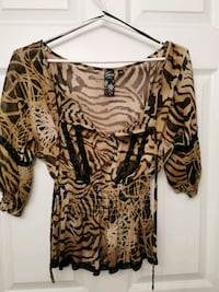 Sheer print top from Guess size Small Toronto, M5J 2K9