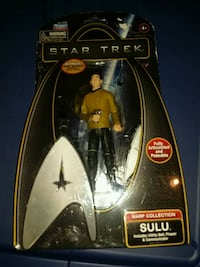 Star Trek Sulu action figure pack
