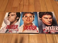 Dexter 3 seasons for 15$ Montréal, H2L 3Y8