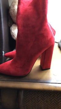 red boots from london Lake Worth, 33463