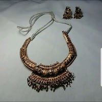 Copper earrings and adjustable choker necklace set  Alexandria, 22304