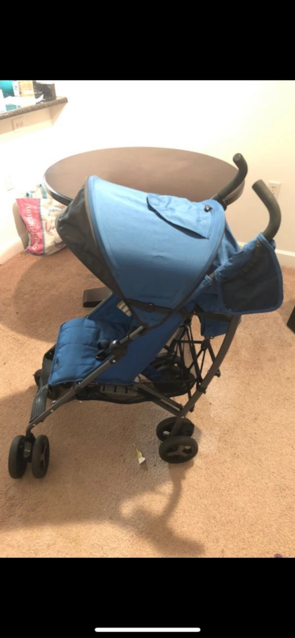 black and blue stroller by Zobo 2746d092-39d2-4161-b4b1-be90cf4610c8