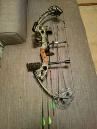 gray and black compound bow Edmonton, T5Y 1T4