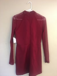 Red long-sleeved romper brand new with tags size Small El Cajon, 92020
