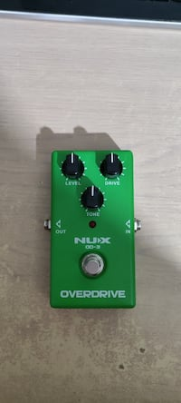 Nux od-3 analog pedal/over drive pedalı