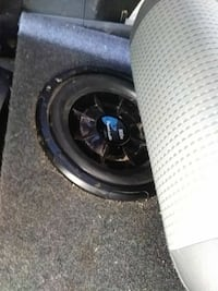2 Planet DJ Shallow Subs in boxes & Boss Amp
