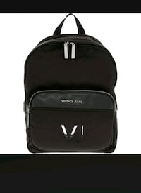 VERSACE JEANS  Black Travel Backpack   Rælingen, 2008