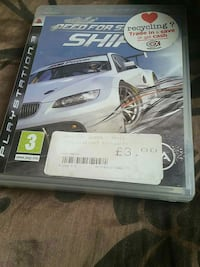 PS3 Need For Speed Shift case Wolverhampton, WV3 0AP