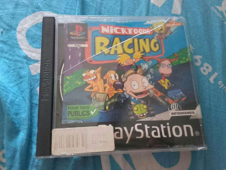 Casquette PlayStation de Nicktoons Racing
