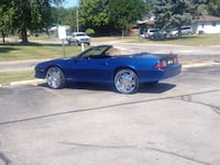 blue and white convertible coupe Saginaw, 48603