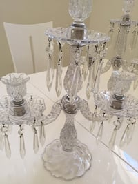 2 antique vintage candelabras by Duncan and Miller. $200 each Delray Beach, 33446