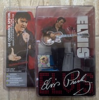 Elvis Presley 68 comeback Mcfarlane            Please Contact Toronto, M1T 2E8