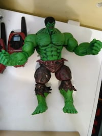 Large Incredible Hulk Action Figure  Toronto, M1N 3Y3