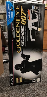 PlayStation Move Goldeneye reloaded edition for ps3 Union City, 94587