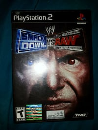 Sony PS3 Smack Down vs Raw case Richmond, V7E