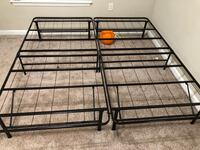 King size bed frame  Charlotte, 28277