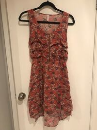 Printed hi-lo dress Barrie, L4M 2A2