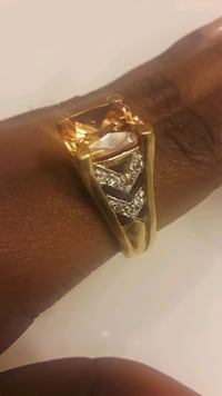 Seta Sterling Gold Ring w/ Gem College Park, 20740