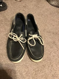 Sparry Shoes Navy White Sole and Laces (size 10) mens  Washington, 20002