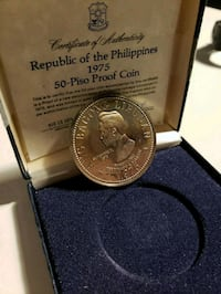 1975 Vintage Philippine P50 Sterling Silver Marcos Calgary, T2R 0S8
