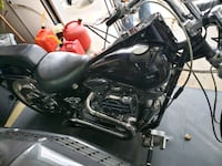 black and gray touring motorcycle Milwaukee, 53225