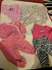 Girl 6m outfits lot  Surrey, V3W 5S2