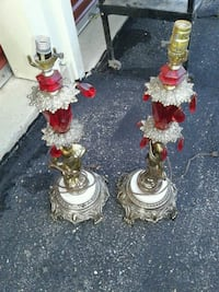 Pair Of Antiquey Lamps Frederick, 21703