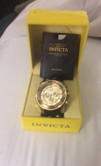 INVICTA Watch. Needs new home make me an offer. With box Virginia Beach, 23462