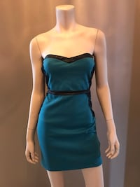 Strapless teal dress  Toronto, M6A 1N2