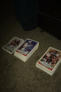 Old school football cards
