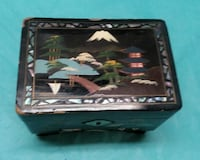 Vintage Lacquered Made In Japan Music Box Plays Mobile, 36693
