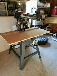 "Craftsman 10"" Professional radial arm saw"