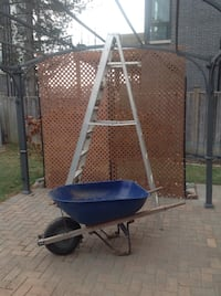 Wheel barrel, ladder, garden tools Richmond Hill, L4C 3X3