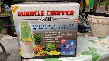 miracle chopper NEW or best offer