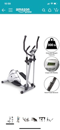 Exerpeutic Heavy Duty Magnetic Elliptical from Amazon