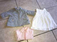 BABY GIRL clothes size 9months