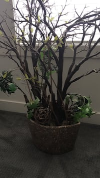 "Artificial plant  in pot approx 38"" high &28""wide. Chestermere"