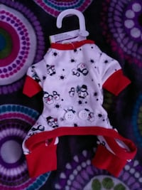 Dog's assorted clothes XX small