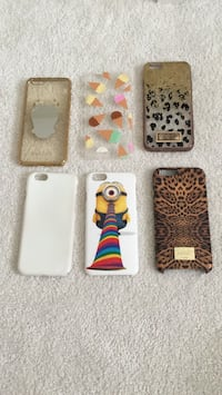 iPhone 6 cases  ( $20 for all the phone cases together )  Calgary, T2Y 5H4