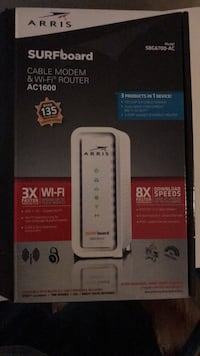 Arris Surfboard Router and Modem (xFinity)