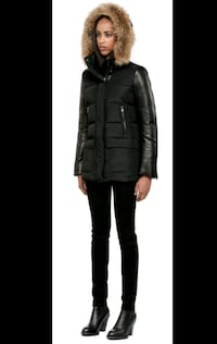 MACKAGE Orla Black Winter Coat in XXS