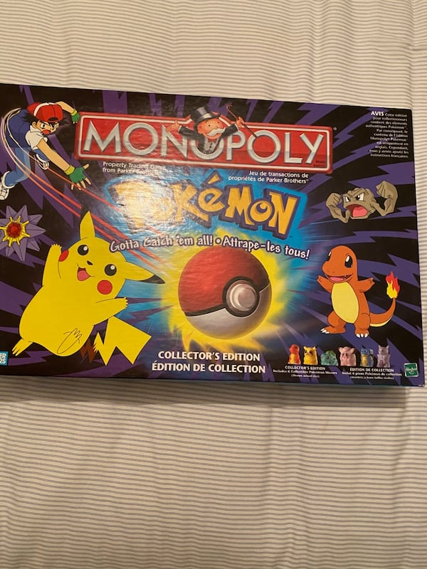 Pokeman Monopoly Board Game  5
