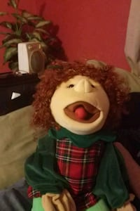 Silly Puppet...you can move the tongue ..funny
