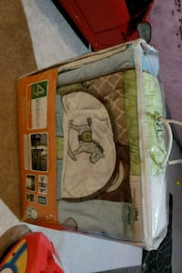 Brand new crib set bedding