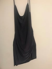 Dark grey Backless Dress Alexandria, 22311